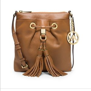 Tan Michael Kors crossbody